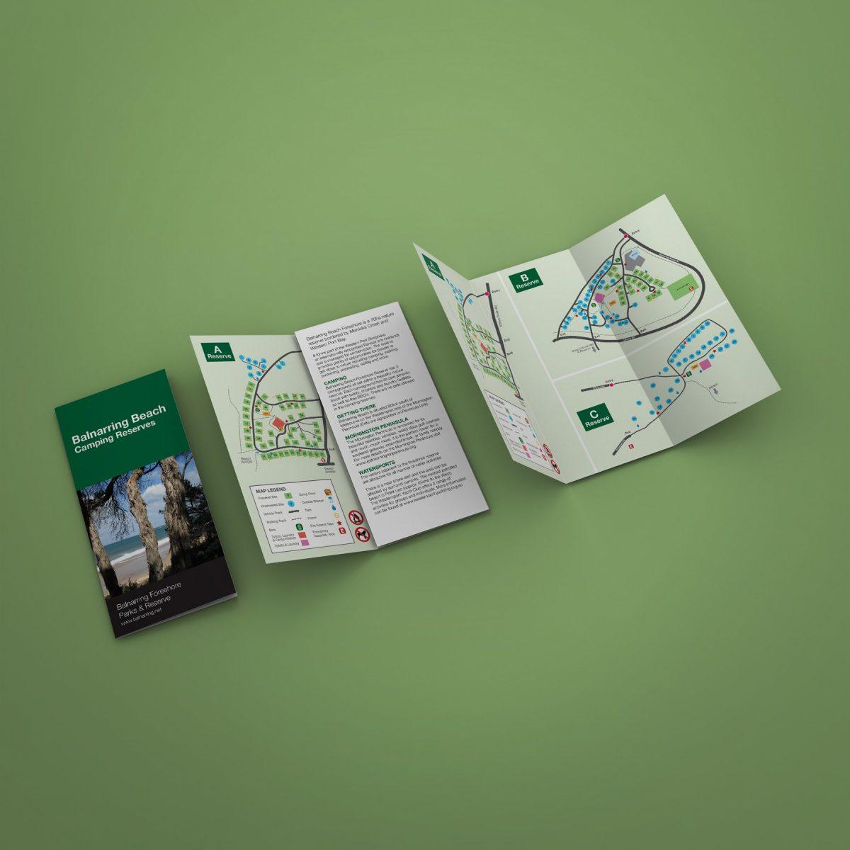 DL brochure of maps