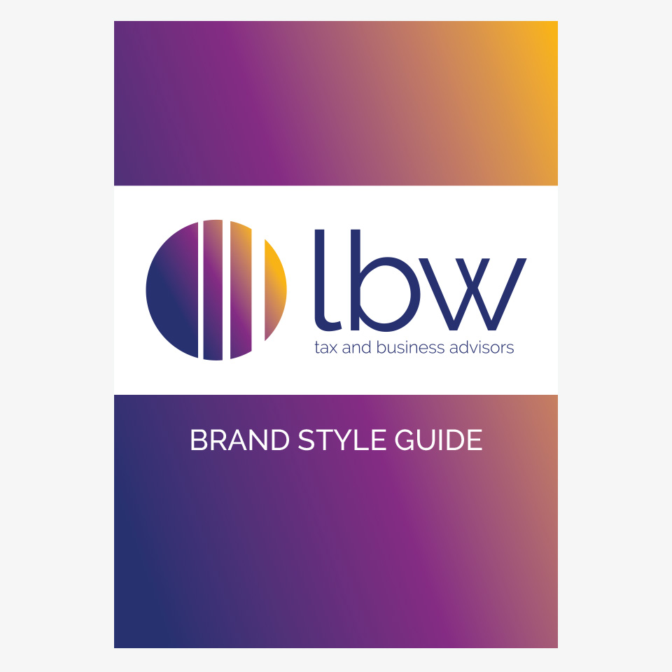A style guide is a handy reference tool so you don't have to guess colours,  fonts or anything else relevant to the brand.