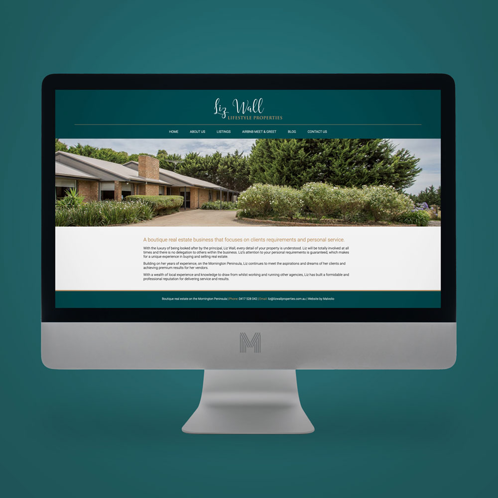 Real estate brochure design Mornington Peninsula